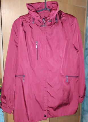 Женская куртка плащ rocco, р. 50