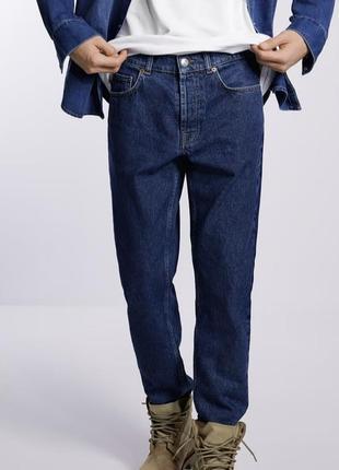 Чоловічі сині джинси zara