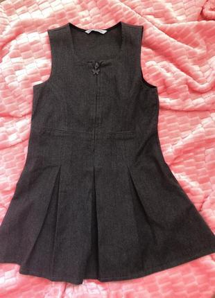 Сарафан, школьная одежда