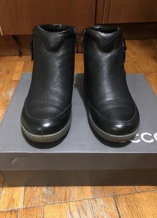 Женские ботинки ecco gortex. осень/зима. 36 размер
