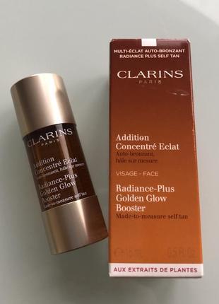 Концентрат с эффектом искусственного загара для лица clarins