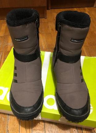Зимние технологичные ботинки adidas clima warm. 46.5 размер