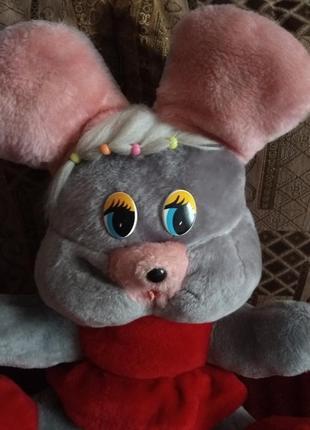 Большая мягкая игрушка мышка 56 на 45 на 33 см, беларусь