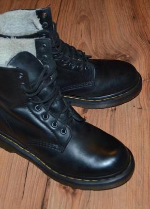 Продам ботинки dr. martens, оригинал  - 39 размер кожа, мех2 фото