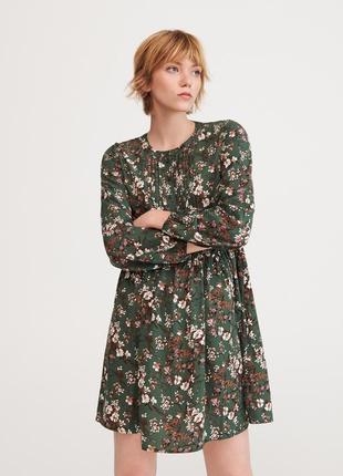 Мини-платье с принтом