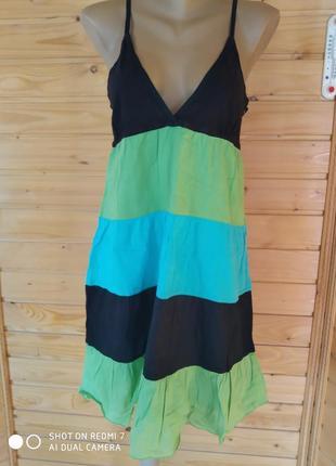 Женские сарафан и плаття пляж розмір-30-40