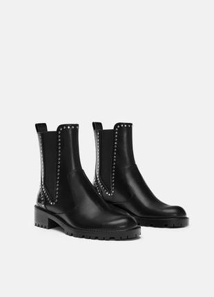 Идеальные ботинки челси от zara
