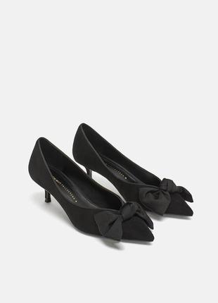 Новые замшевые туфли zara