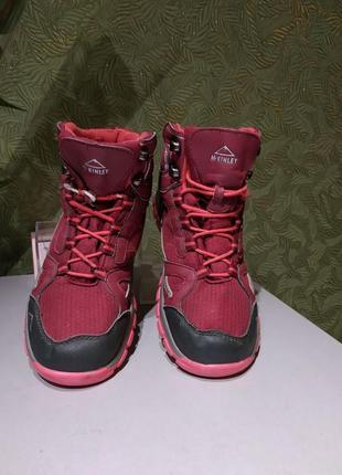 Mcinley  37р ботинки трековые  женские