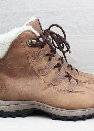 Женские кожаные зимние ботинки timberland оригинал, размер 39