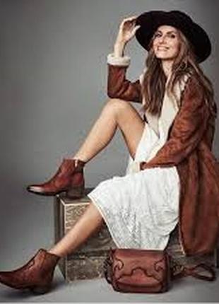 Сапоги полусапоги ботинки натуральная кожа р-р 41-42 uk 7,5 ara