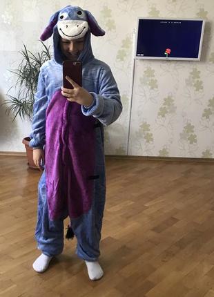Пижама костюм кигуруми ослик