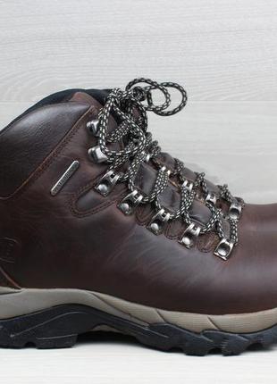 Кожаные ботинки hi-gear waterproof, размер 38