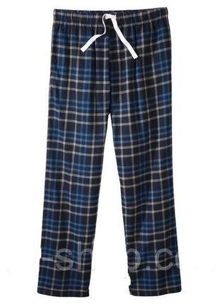 Фланелевые штаны для дома и отдыха