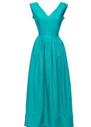 Стильное льняное летние платья бренда роlit 42-44 р