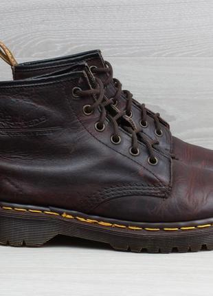 Кожаные ботинки dr. martens оригинал англия, размер 38