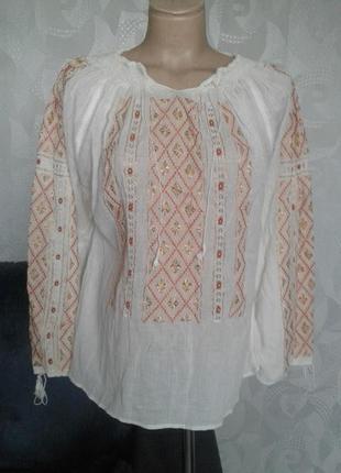 Супер блуза-вышиванка