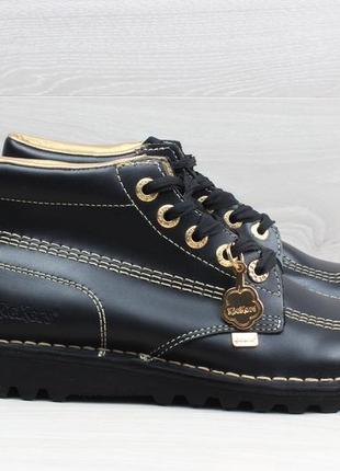 Кожаные ботинки kickers, размер 39