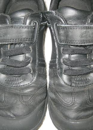 Кожаные кроссовки-туфли для мальчика clarks 31