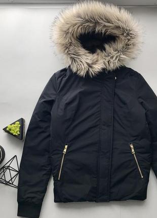 Крутая тёплая зимняя куртка пуховик next