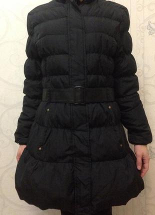 Пуховик, зимнее пальто колокольчик германия3