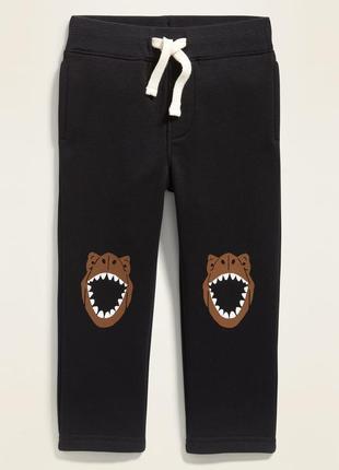 Спортивные штаны, штаники на флисе для мальчика old navy,р. 12-18 и 18-24 м