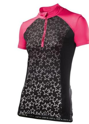 Вело футболка спортивная футболка crivit damen-fahrradshir р.50-52 (l)