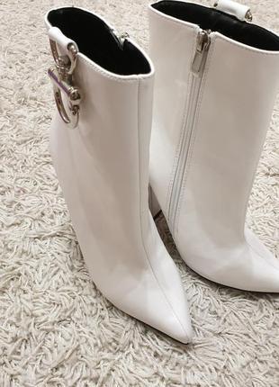 Брендовые женские белые сапожки public desire | 100% оригинал фирменные