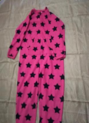 Флисовая пижама кигуруми.