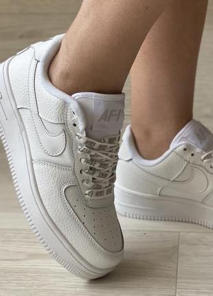 Nike force натуральная кожа, кеды