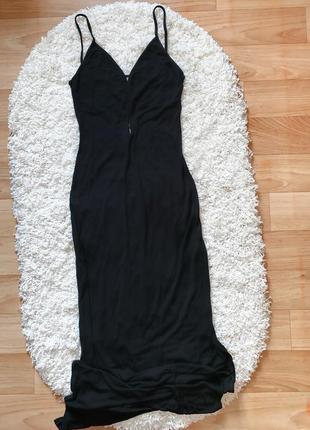 Шикарное вечернее платье с вырезом и разрезом oт lipsy; выпускное платье; бальное платье;