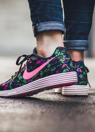 Nike lunartempo 2 print супер-кроссы, р 38,5.4