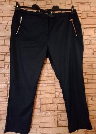 Узкие стрейчевые женские брюки большого размера