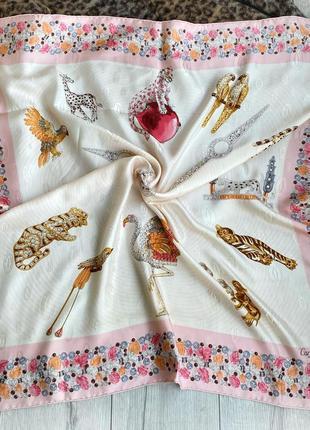 Шелковый платок оригинал cartier