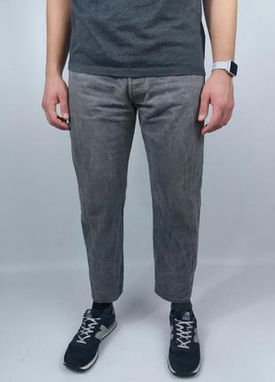 Укороченные джинсы из хорошего денима от levi's