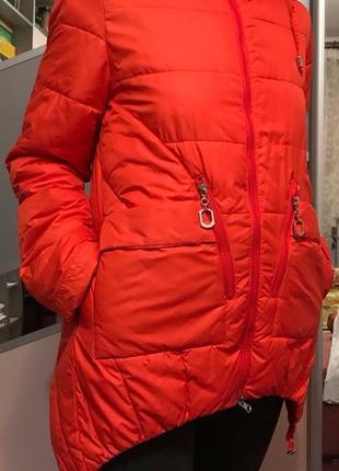 Куртка курточка яркая деми весна осень
