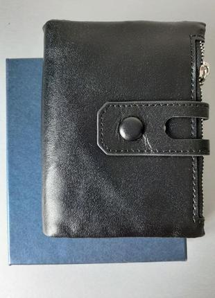 Мужской кошелек из конской кожи в подарочной упаковке