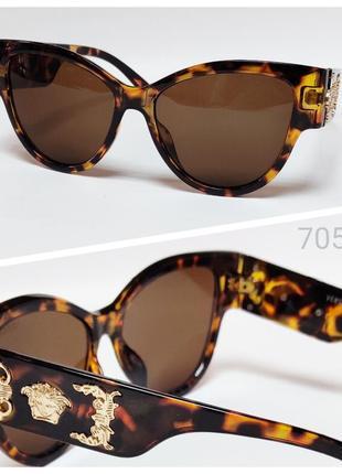 Женские очки солнце лео  узор дужки