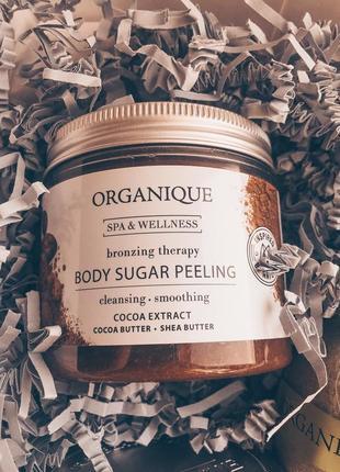 Розгладжувальний цукровий пілінг для тіла