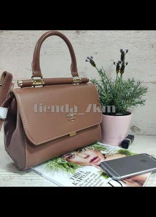 Стильная сумка через плечо / клатч david jones 5954-1t розовый
