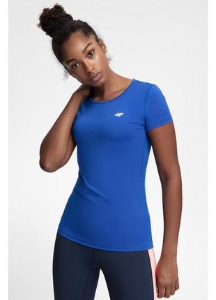 Спортивна футболка насиченого синього кольору 4f р. xs