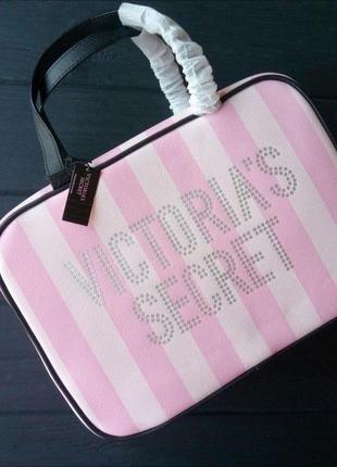 Дорожный кейс органайзер для косметики от victoria's secret виктория сикрет ✈️