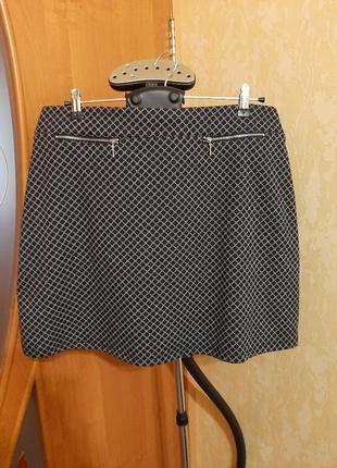 Трикотажная юбка 14-16 размер