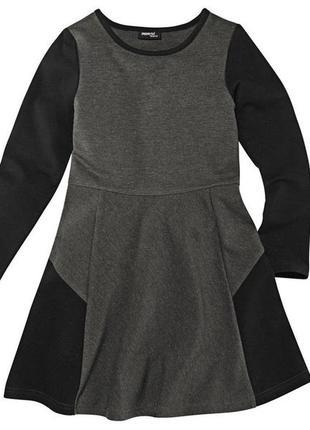 Платье двунитка pepperts германия 10-12лет 146-152 германия можно в школу
