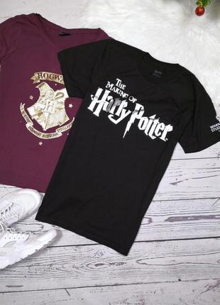 Чёрная футболка гарри поттер