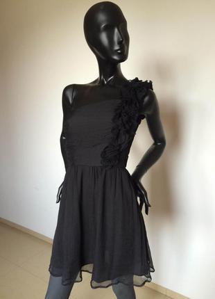 Шелковое платье mango,  s.