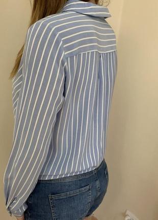 Блузка на запах от h&m