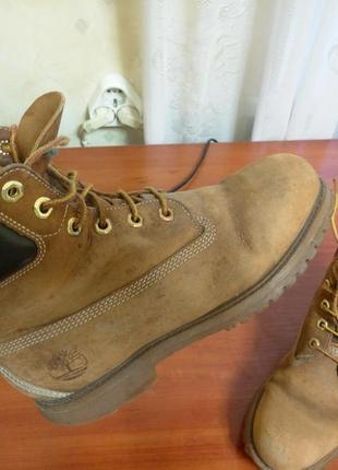 Ботинки осенние зимние timberland 38