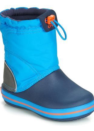 Crocs crocband lodgepoint boot snow, размер с10.