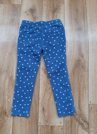 Нові джинсові лосінки lupilu